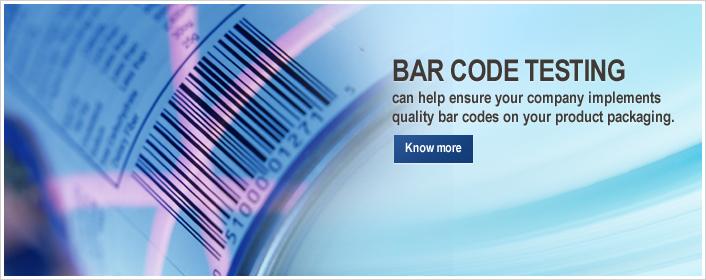 Bar Code Testing