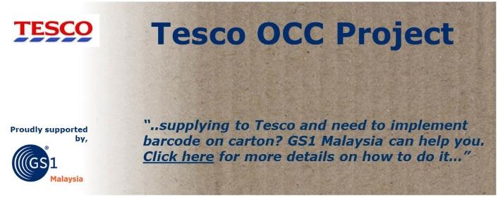 Tesco Outer Carton Case Project